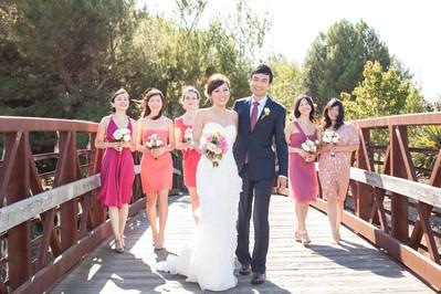 Rengstorff House Wedding, Mountain View California wedding