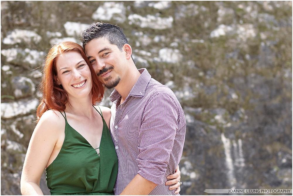 beautiful couple portrait in tulum