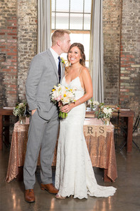 Huron Substation Wedding, a unique Los Angeles Loft Wedding venue