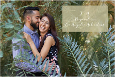 Proposal at the rose garden in the Los Angeles County Arboretum and Botanic Garden ||  T + A