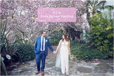 Santa Barbara Courthouse Mural Room Wedding, Belmond El Encanto and Cadiz Wedding   R + N