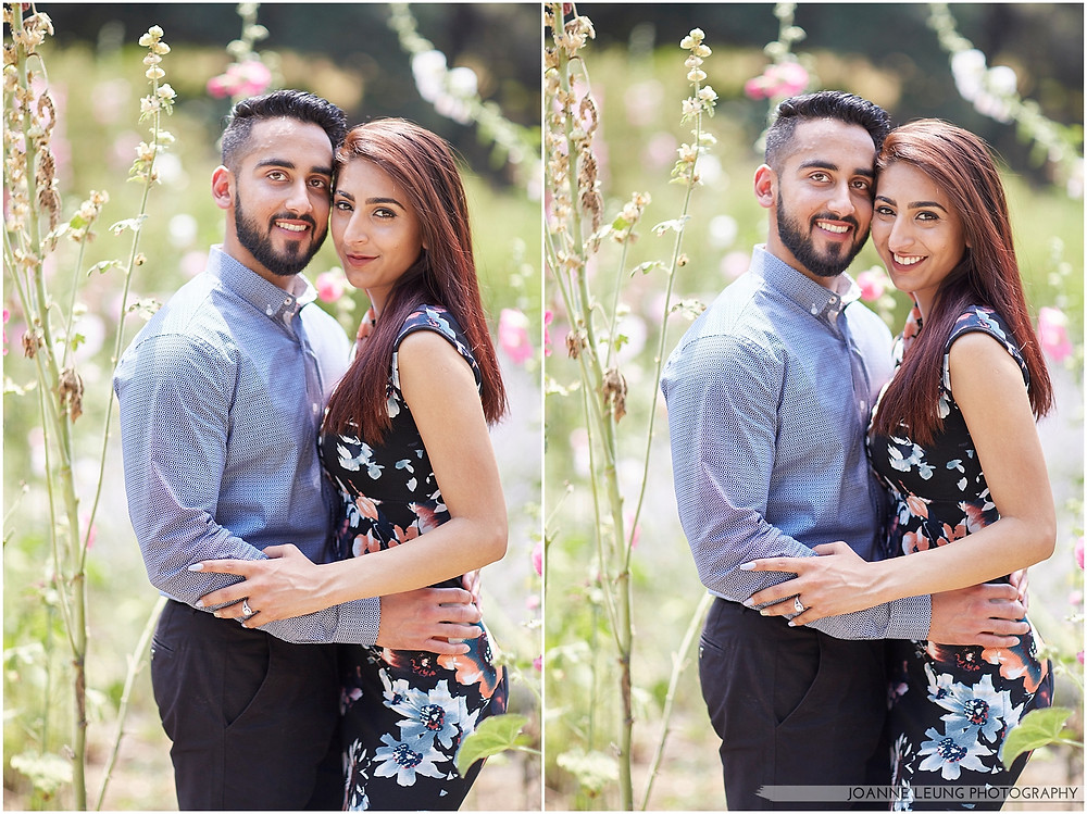 portraits of beautiful couple