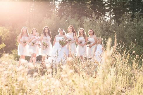 San Moritz Lodge Wedding, Crestline Wedding Venue inside a National Forest