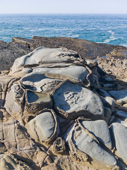 Wild Rocks At Salt Point
