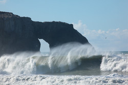 Breaking Wave at Goat Rock Beach