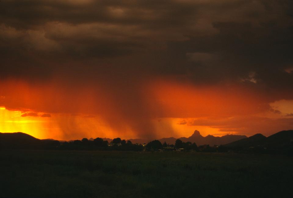 Sunset Over the Baboquivaris