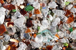 Close-up at Glass Beach
