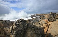 Waves and Tafoni, Salt Point