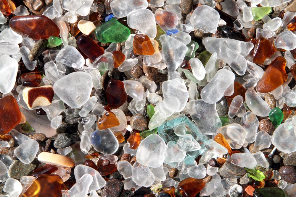 Glass Beach, Detail