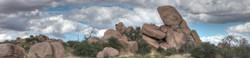 Texas Canyon Panorama