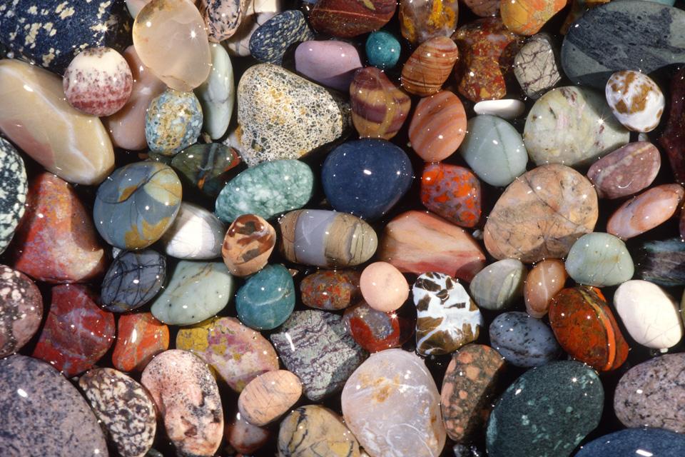 Selected Beach Rocks