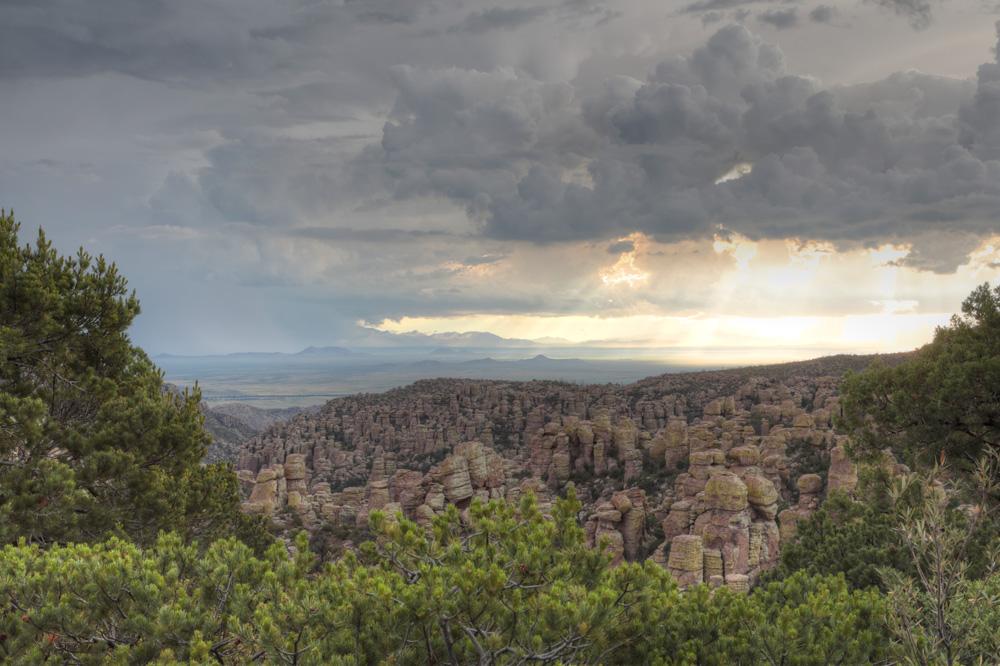 Sunset, Chiricahua National Monument
