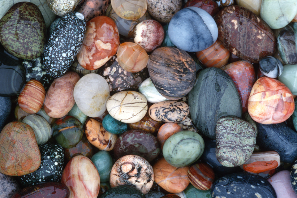 Selected N. California Beach Rocks