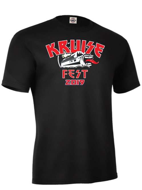 Kruise Fest limited edition HEADSHOT tee