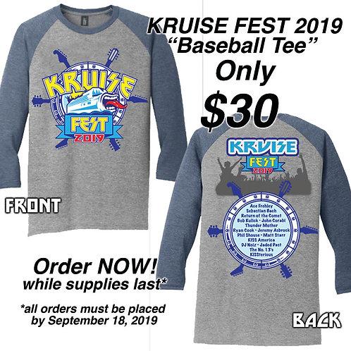 Kruise Fest Baseball Tee