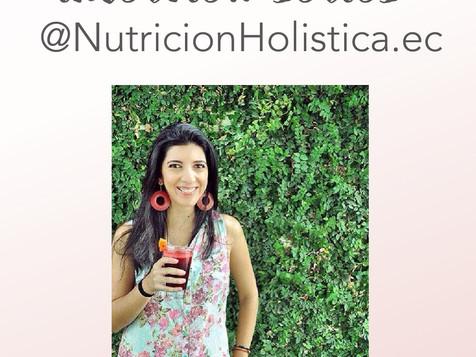 INTERVIEW SERIES #4: NutricionHolistica.ec (Andrea Tinoco)