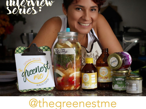 INTERVIEW SERIES #9: @thegreenestme (Cata Vallejo)