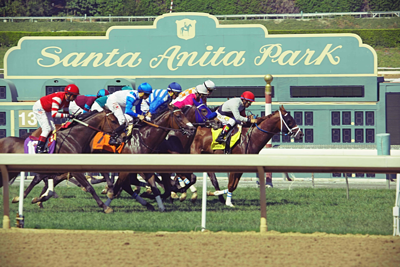 Santa Anita Park Sign
