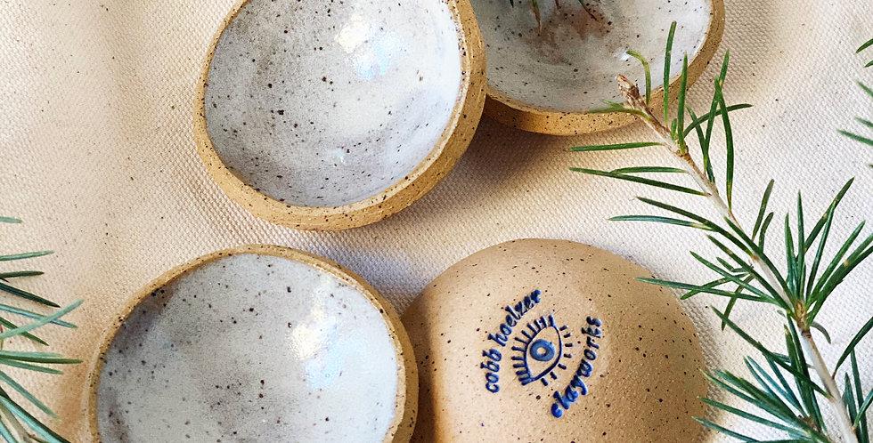 Tiny Bowl set in buckwheat