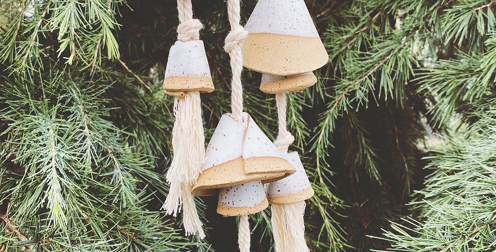 ceramic cone bell cluster set