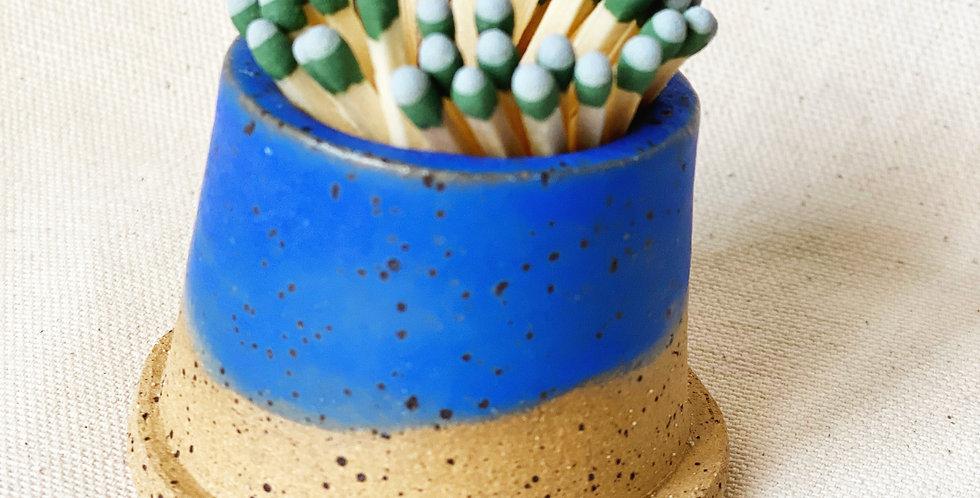 Match Striker in blue jean