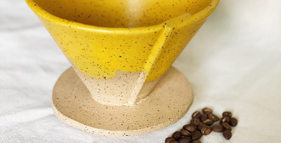 Coffee Cone in turmeric