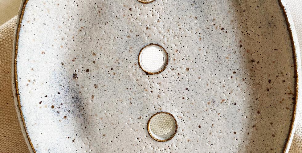 Soap Dish in buckwheat