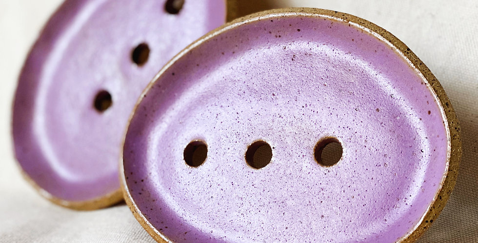 Soap Dish in orchid