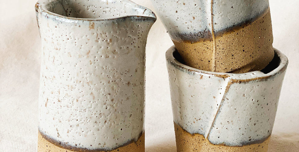 carafe + tumbler set in buckwheat