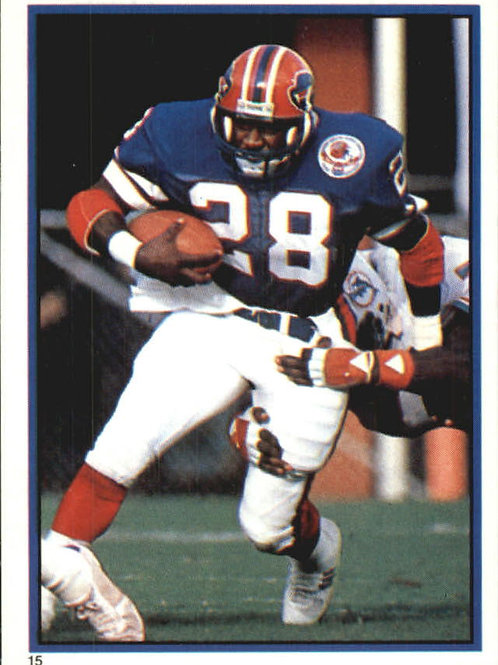 Autographed photo of Greg Bell with the Buffalo Bills