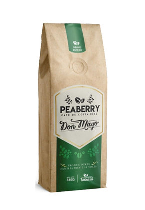 Cafe Peaberry 340g Grano