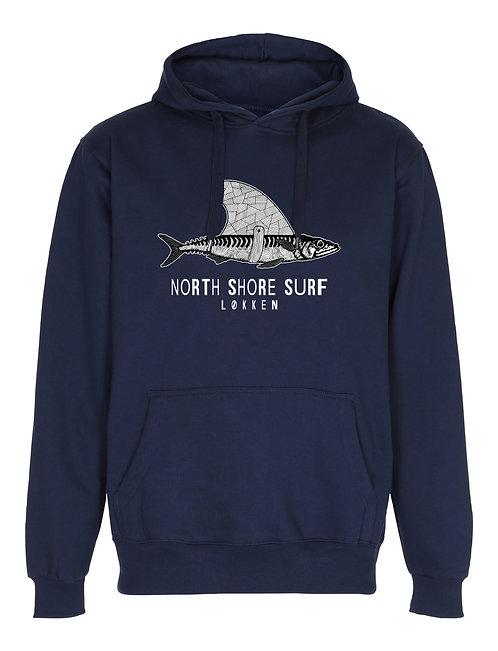 Hoodie - NSS haj - navy