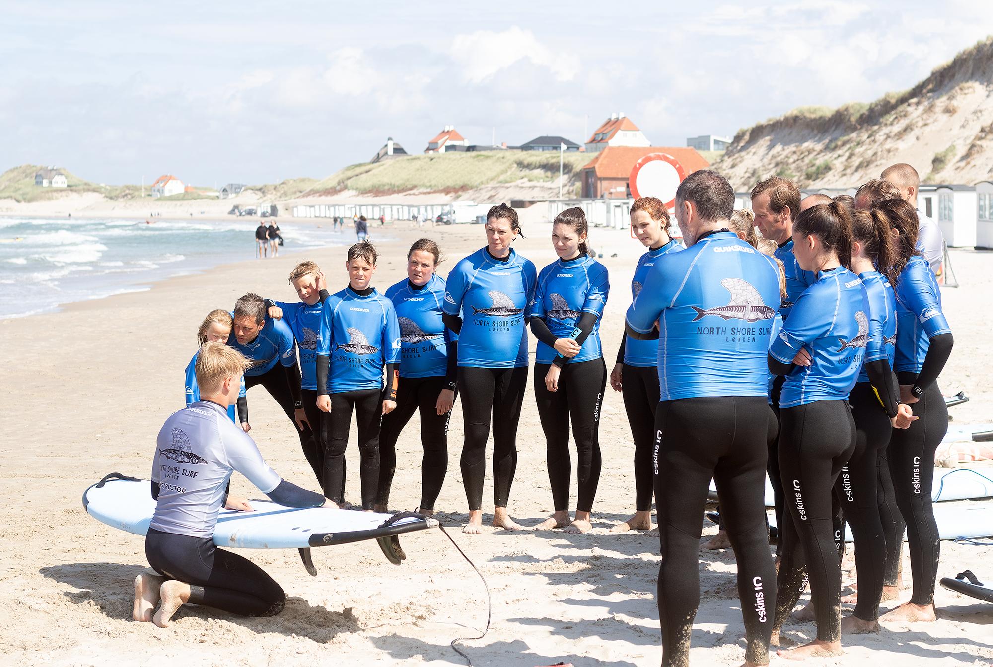Intro surf & SUP kursus