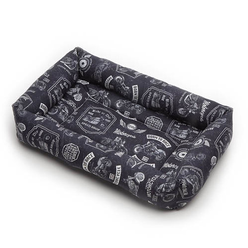 Motorcycles Cotton Bumper Bed