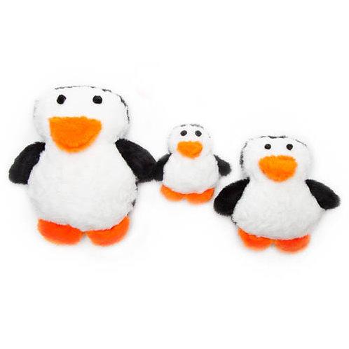 Penguin Plush Dog Toy