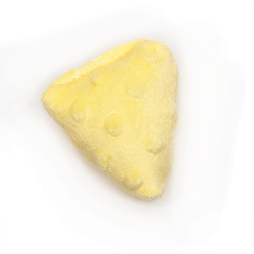 Cheese Plush Dog Toy