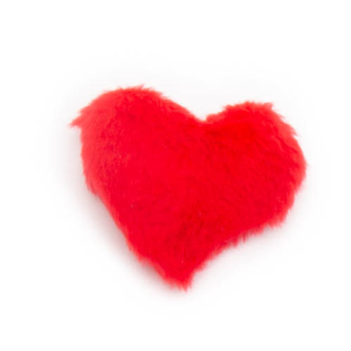 Catnip Heart Plush Toy