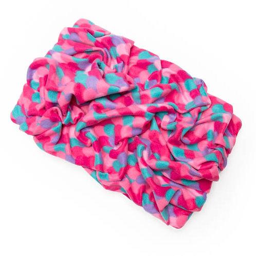 Pink Mermaid Fleece Blanket Bed