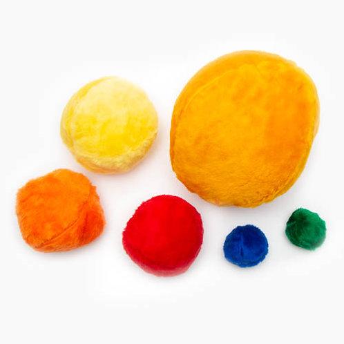 Ball Plush Dog Toy
