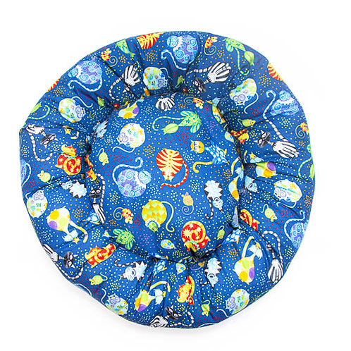 Catmosphere Cotton Round Bed