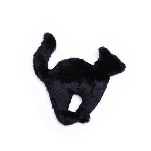 Black Cat Plush Dog Toy