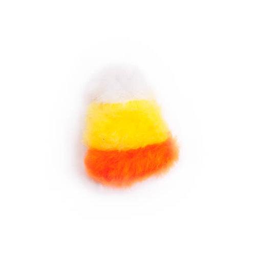 Candy Corn Plush Dog Toy