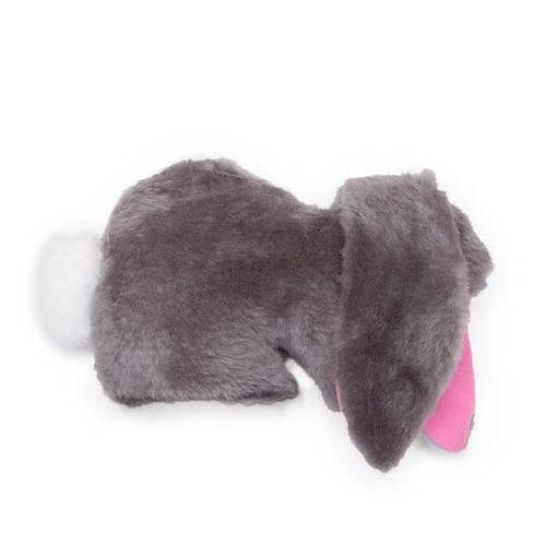 Lop Sitting Bunny Plush Dog Toy