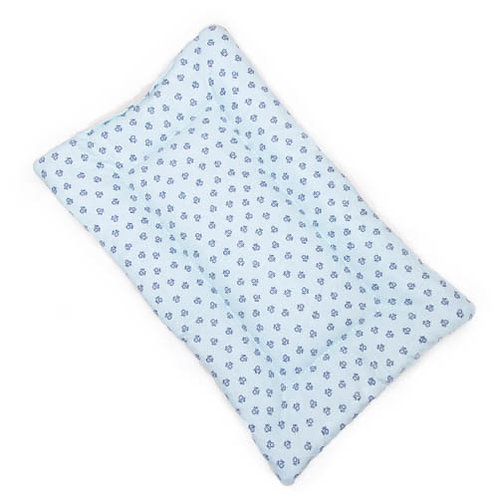 Poochie Paws Printed Cotton Fabric - Quilted Crate Pad
