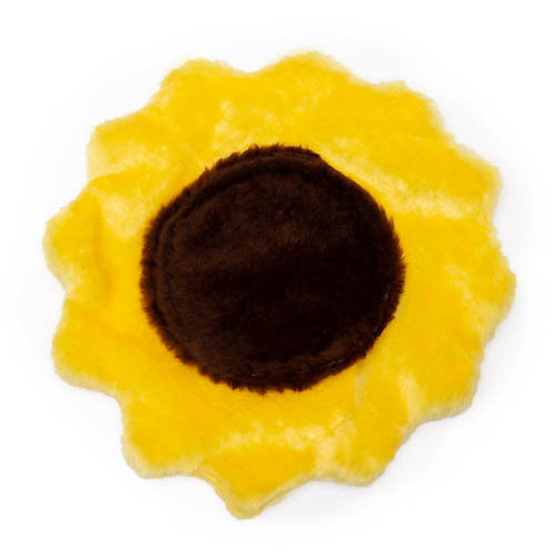 Sunflower Plush Dog Toy