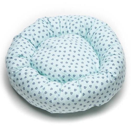 Poochie Paws Cotton Round Bed