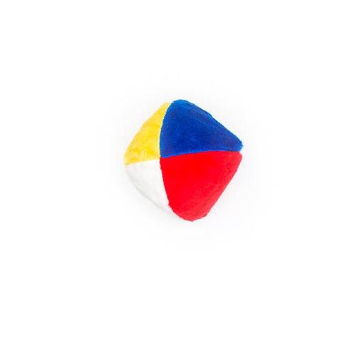 Beachball Plush Dog Toy