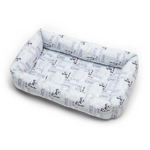 Poochie Words Cotton Bumper Bed
