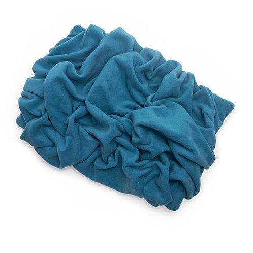Larkspur Blue Fleece Blanket Bed