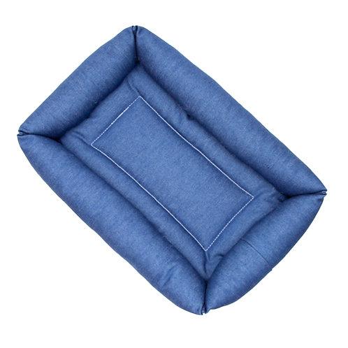 Blue Denim Bumper Bed